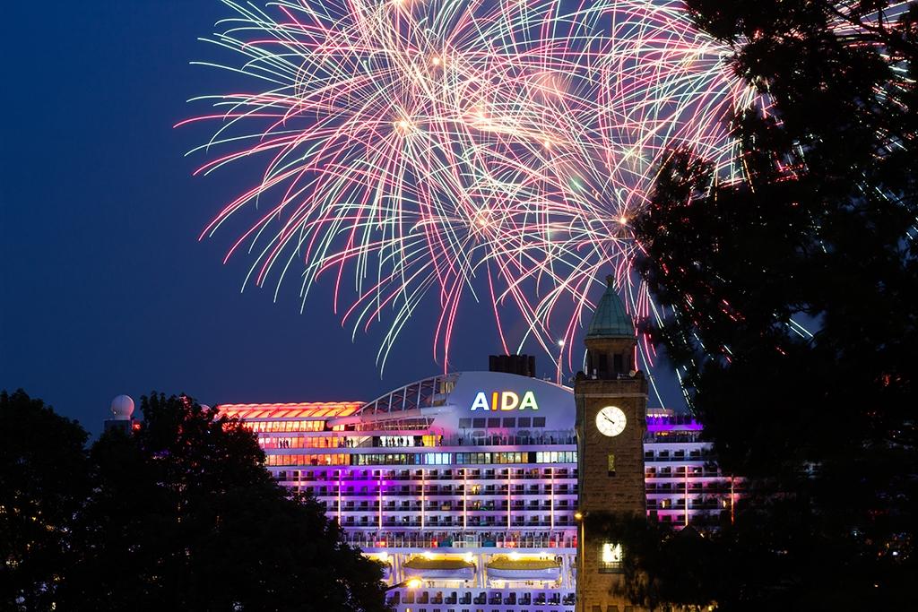 Feuerwerk Hafengeburtstag