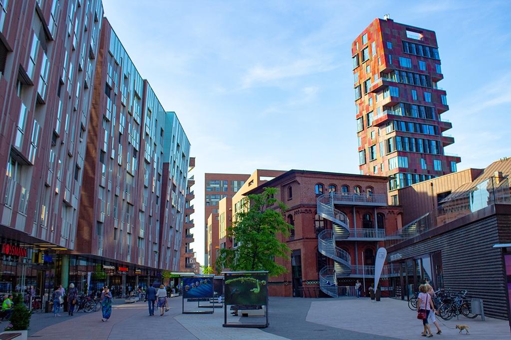 Überseeboulevard Hamburg