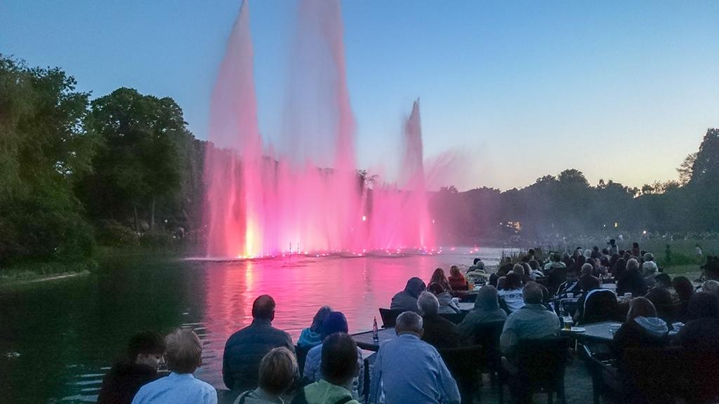 Wasserlichtspiele Planten un Blomen