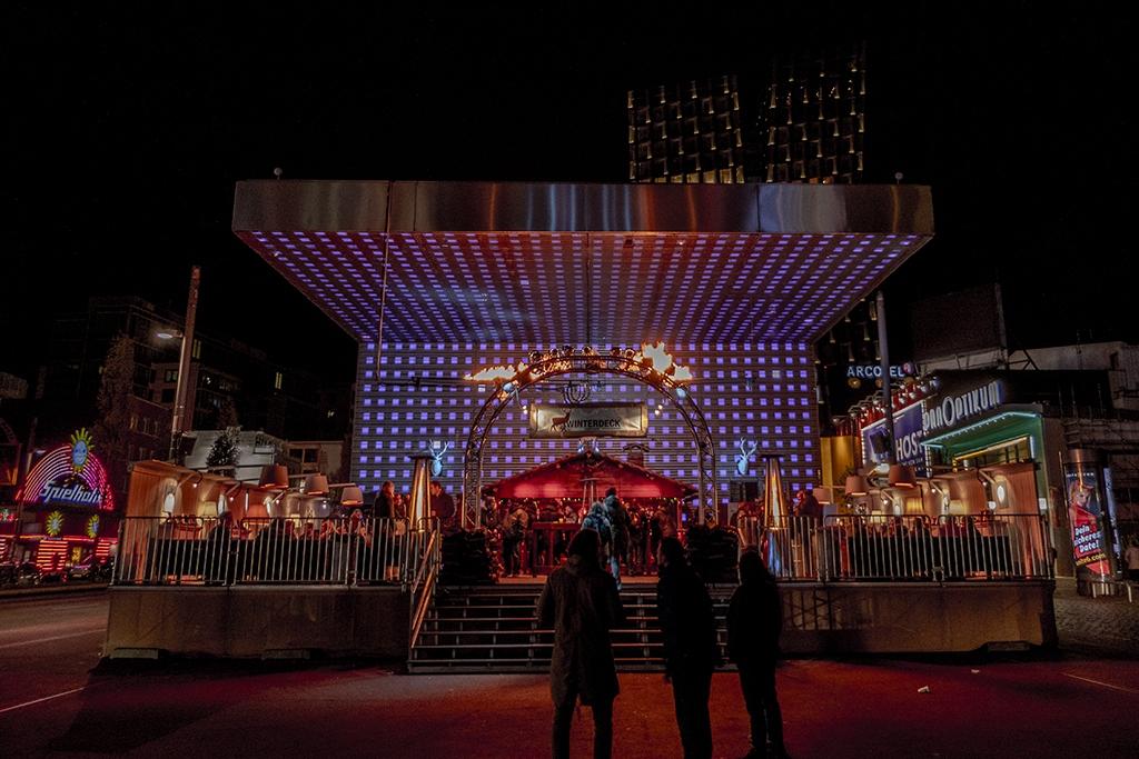 Spielbudenplatz zur Weihnachtszeit