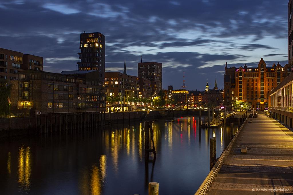 Elbtorpromenade und Störtebecker Ufer in Hamburg