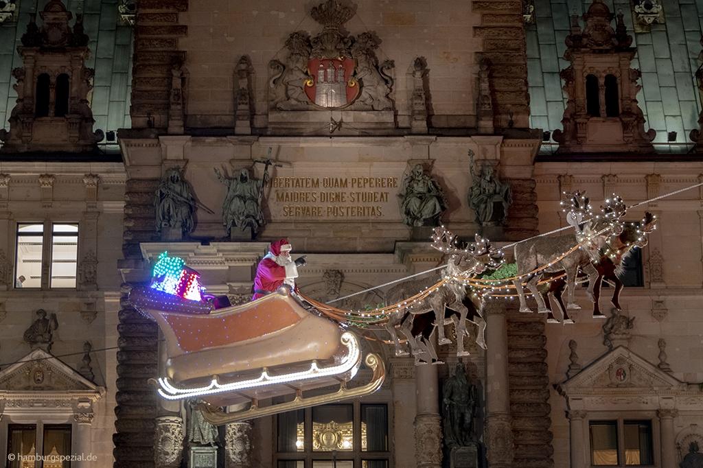 Der historische Weihnachtsmarkt auf dem Rathausmarkt