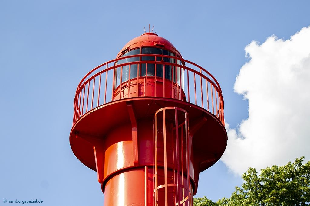 Alter Leuchtturm in Hamburg Övelgönne