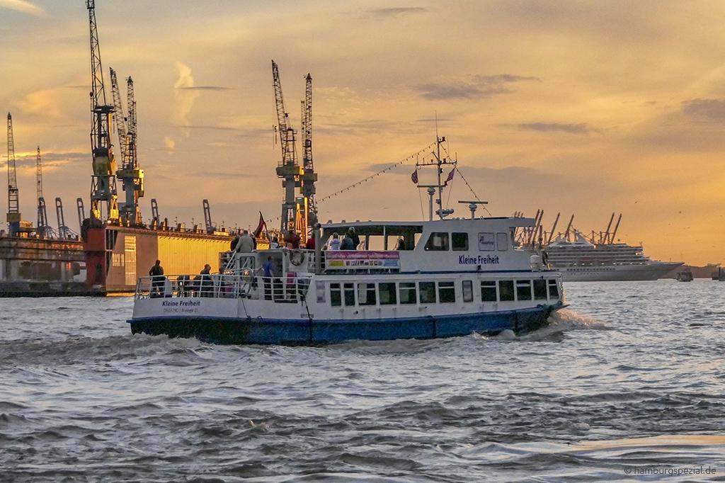 Lichterfaht Hamburger Hafen