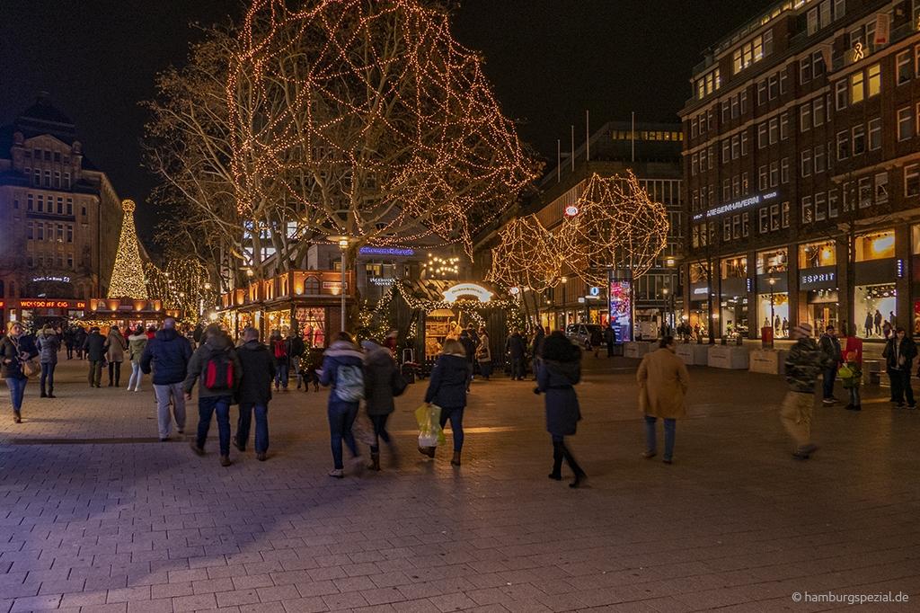 Weihnachtszeit Mönckebergstraße