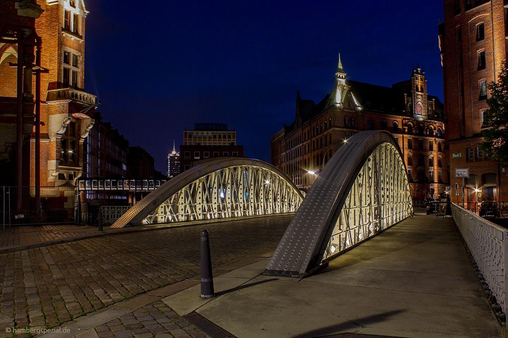 Brücke Speicherstadt Hamburg