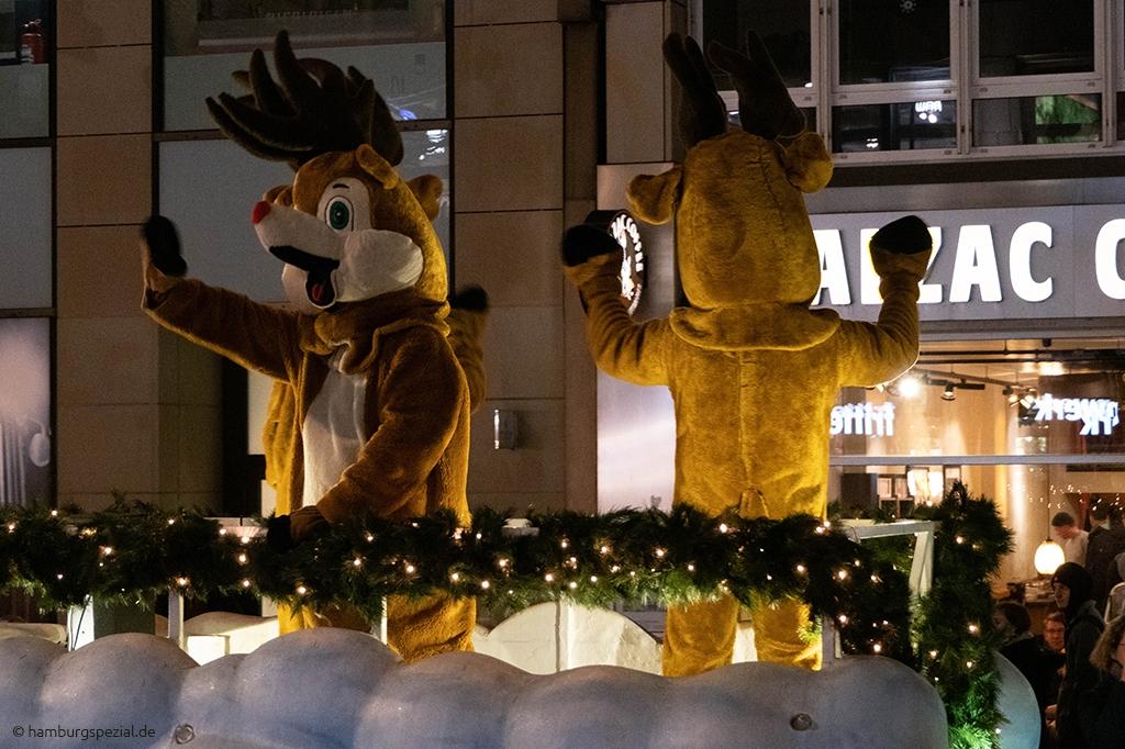 Weihnachtsparade Hamburg