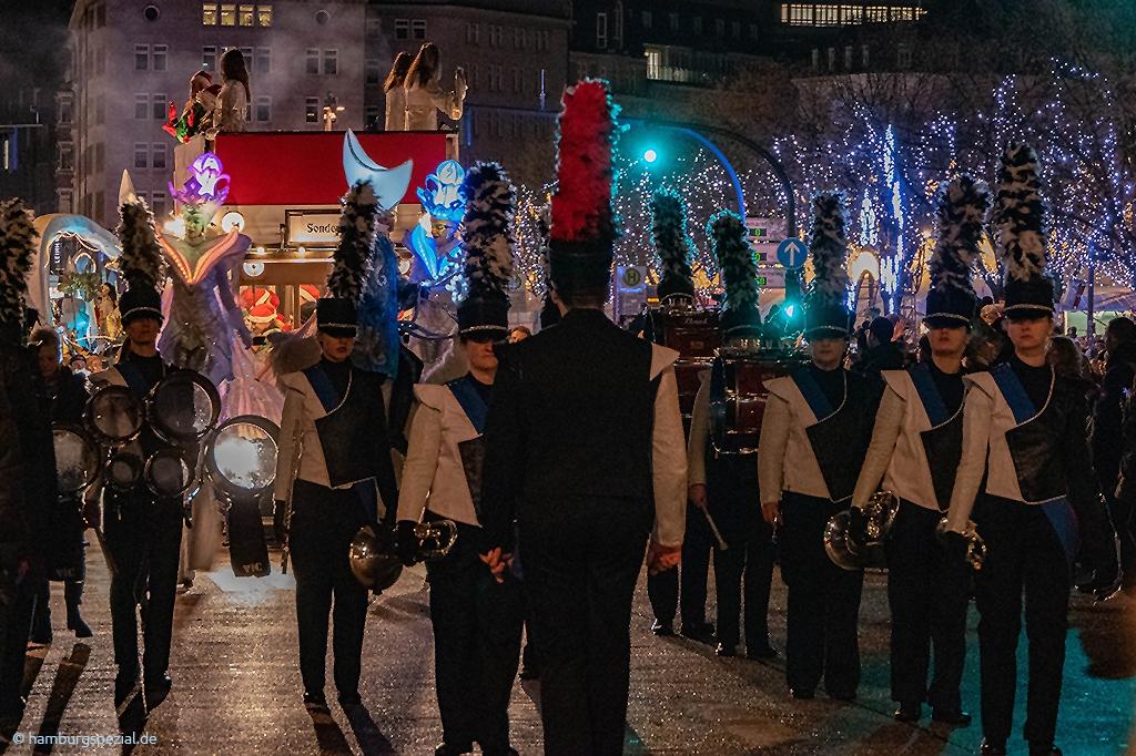 Spielmannszug Weihnachtsparade Hamburg