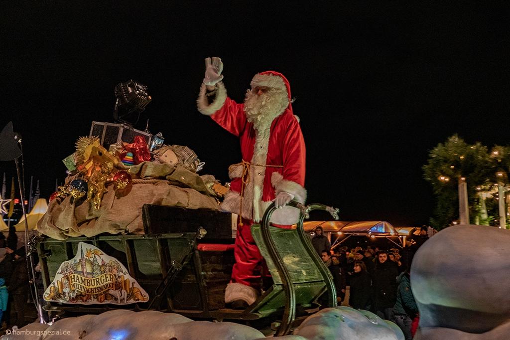Weihnachtsmann Mönkebergstraße
