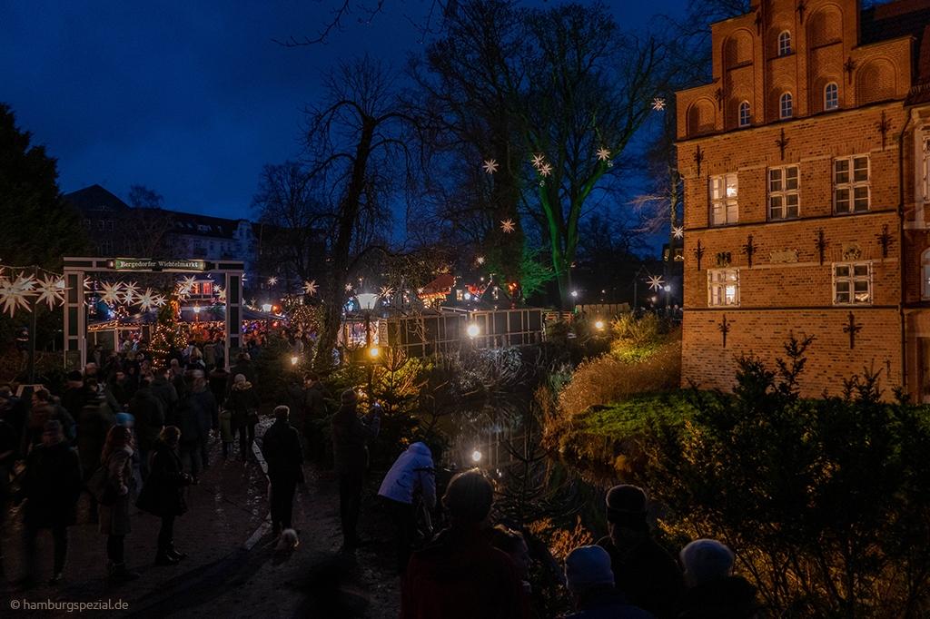Weihnachten am Schloss Bergedorf